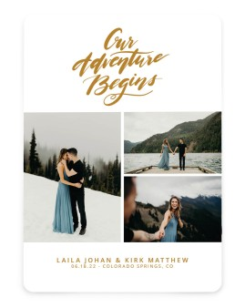 Dream Adventure Save the Date Cards