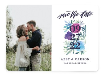 Kissing Charm Save the Date Cards