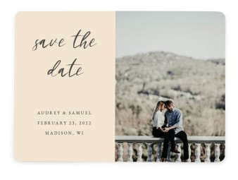 Majestic Moment Save the Date Cards