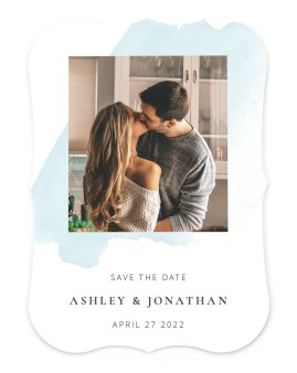 Stroke of Luck Save the Date Cards