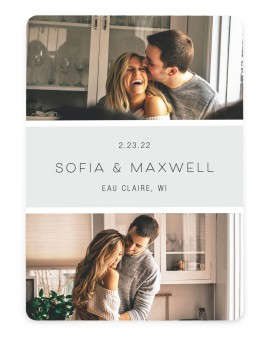 Splendid Moment Save the Date Cards