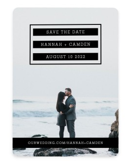 Waves of Romance Save the Date Cards