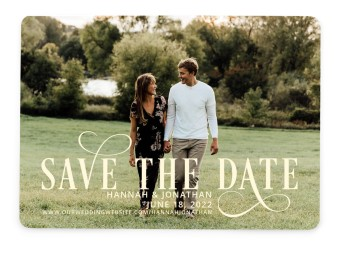 Love Infinity Save the Date Cards
