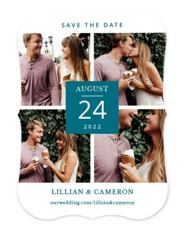 Framed Four Save the Date Cards