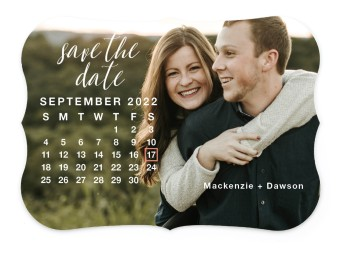 The Big Date Save the Date Cards