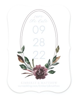 Hooped Allure Save the Date Cards
