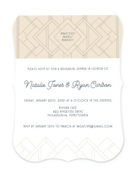 Faded Gems Save the Date Cards
