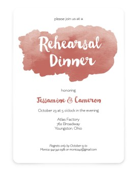Wine & Dine Save the Date Cards