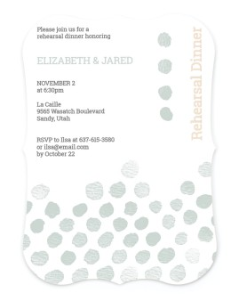 Soiree Splash Save the Date Cards