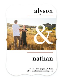 Dreamy Meadows Save the Date Cards