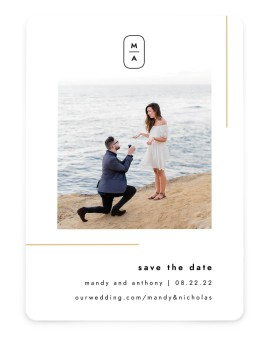The Proposal Save the Date Cards