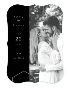 Love's Ribbon Save the Date Cards