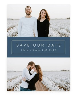 Field of Blooms Save the Date Cards