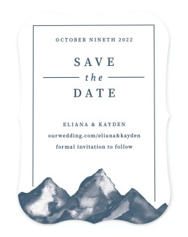 Perfect Peak Save the Date Cards