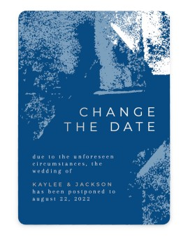 Our New Date Change the Date Cards