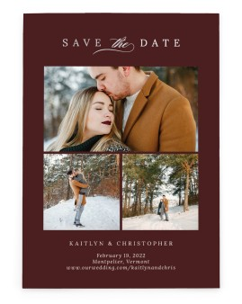 Enchanted Bliss Save the Date Cards