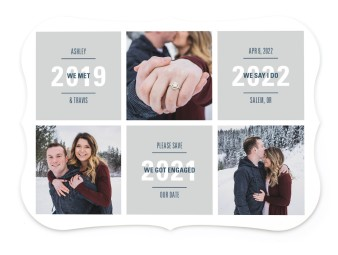 Sweet Snapshots Save the Date Cards