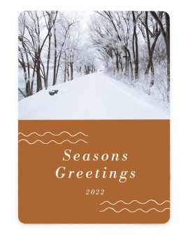 Thankfulness Business Holiday Cards