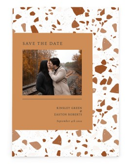Cornerstone of Love Save the Date Cards