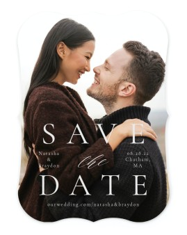 Timeless Order Save the Date Cards