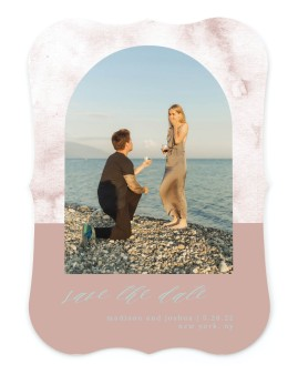 Gentle Touch Save the Date Cards