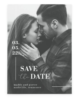 For Eternity Save the Date Cards