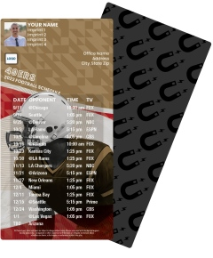49ers Football Schedule Magnets