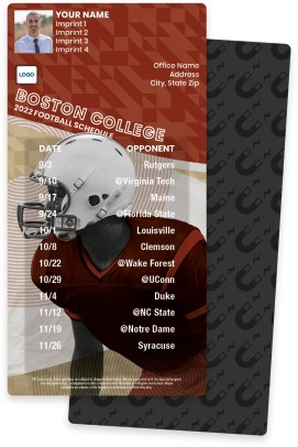 Boston College Football Schedule Magnets