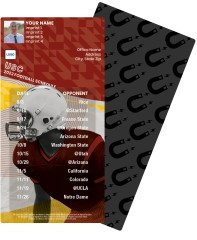 USC Football Schedule Magnets
