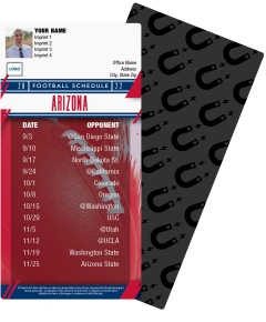 Arizona Wildcats Football Schedule Magnets