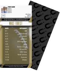 Wake Forest Demon Deacons Football Schedule Magnets