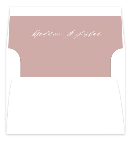 Gentle Touch Wedding Invitation Envelope Liners