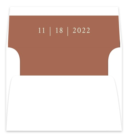 Timeless Truth Wedding Invitation Envelope Liners
