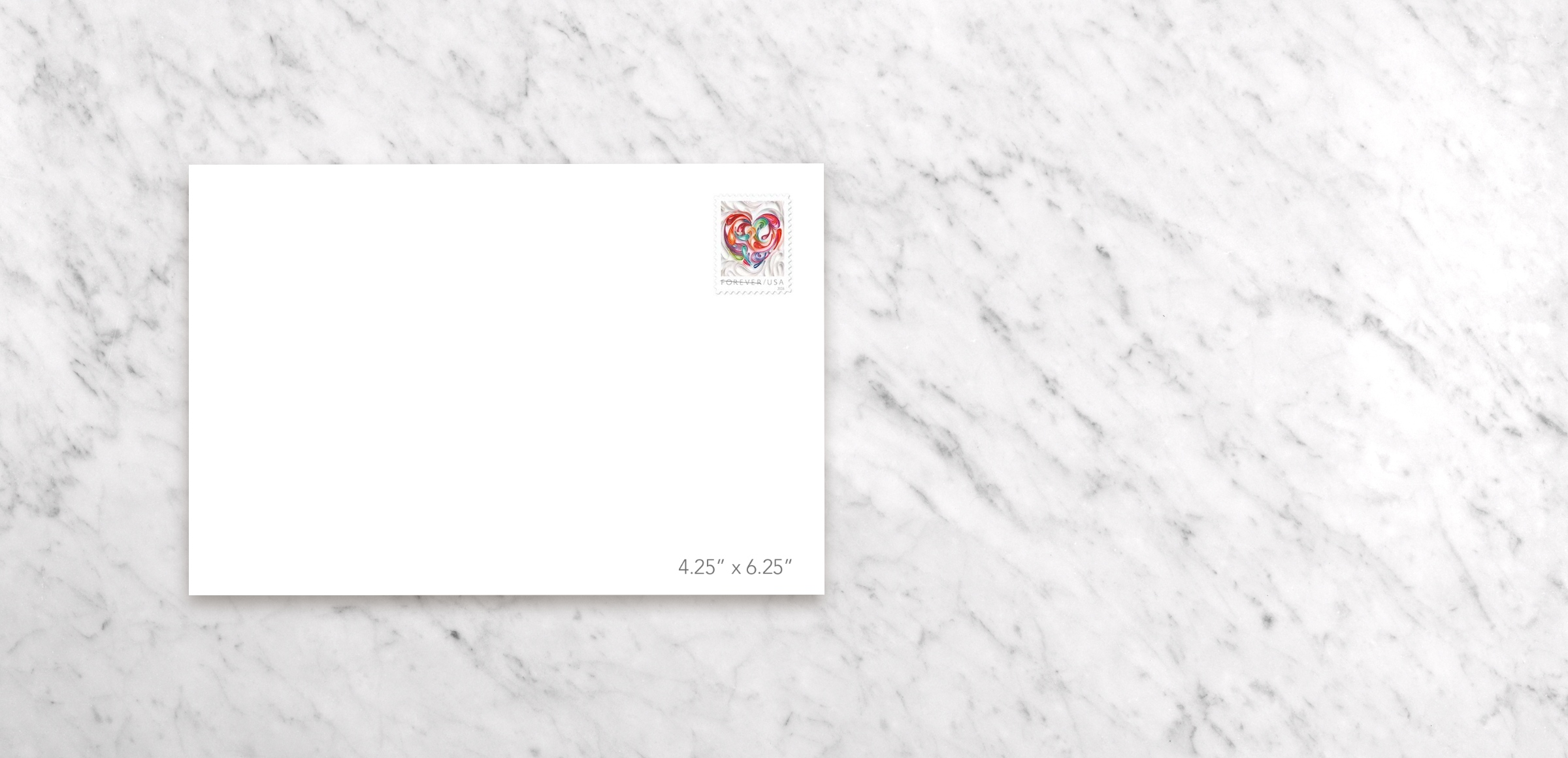 Invitation Included Envelope