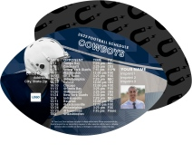 Cowboys Football Schedule Magnets