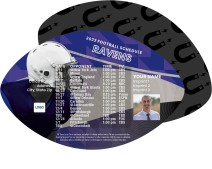 Ravens Football Schedule Magnets