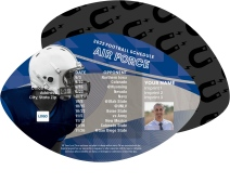 Air Force Academy Football Schedule Magnets