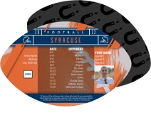 Syracuse Orange Football Schedule Magnets