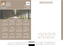 Wooded Road Memo Board Calendars