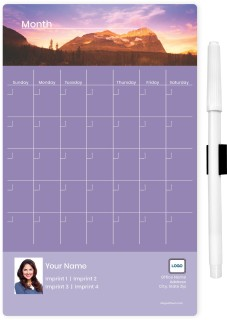 Mountain Memo Board Calendars