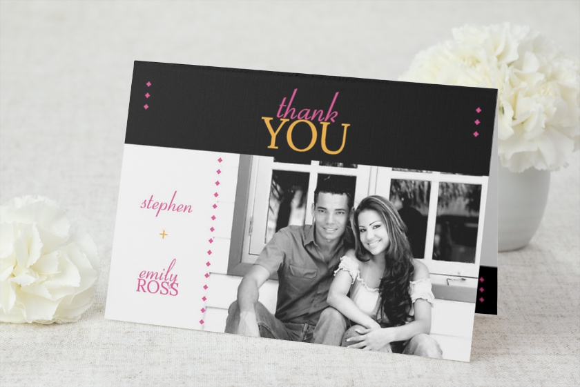 Diamond Date Thank You Cards