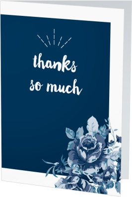 Winsome Bouquet Thank You Cards