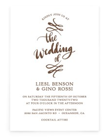 Soon to Be Rectangle Invitations