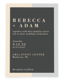 Merging Love Rectangle Invitations
