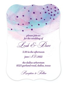 Joyful Enchantment Bracket Invitations