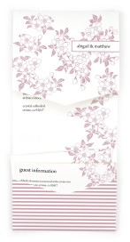 Lovely Blossoms Pocket Invitations