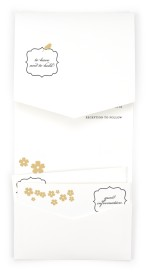 Soft and Sweet Pocket Invitations