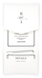 Because You're Mine Pocket Invitations