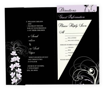 Waking Beauty Pocket Invitations