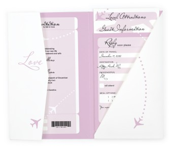 Love Airways Pocket Invitations